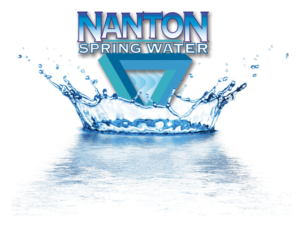 Nanton water logo