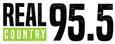 Real Country 95.5 logo